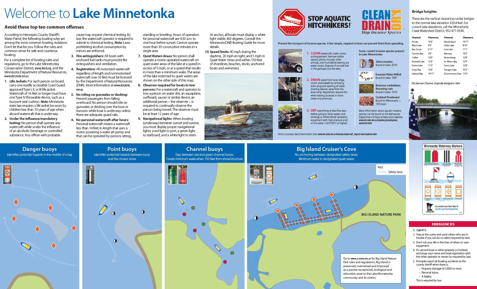 Lake Minnetonka Map Guide